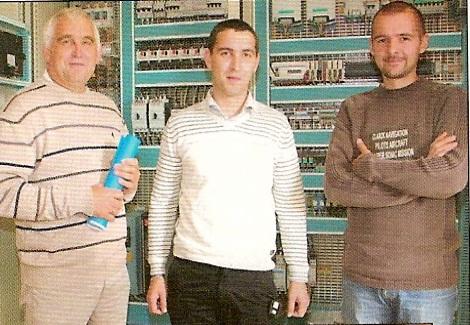 M Loaec Michel, M Loaec Louis-Guillaume et M Le Coz Fabien