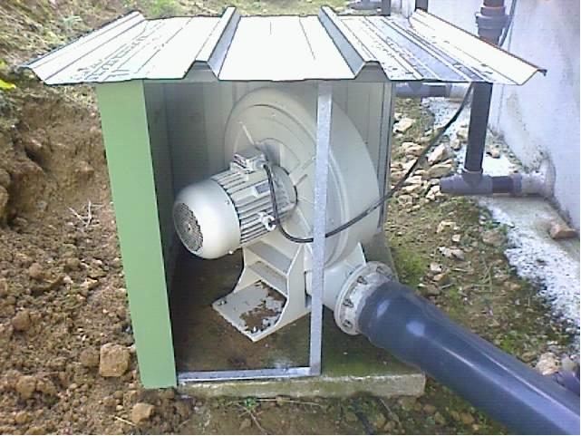 Ventilateur centrifuge moyenne pression
