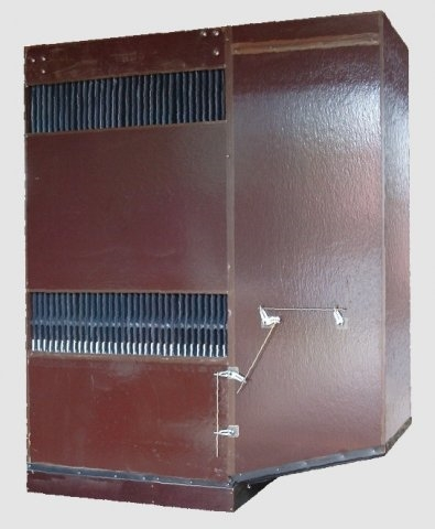 Echangeur avec protection UV et ventilation intégrée