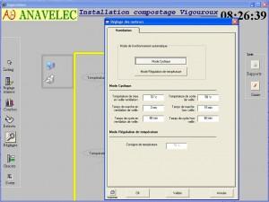 Logiciel développé par Anavelec Supervision de compostage
